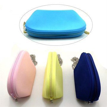 Ladies Hand Bag Casual Silicone Cosmetic Bag