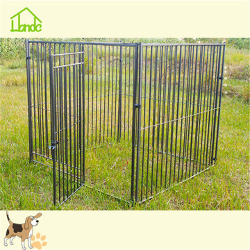 Hot sale black welded mesh dog cage