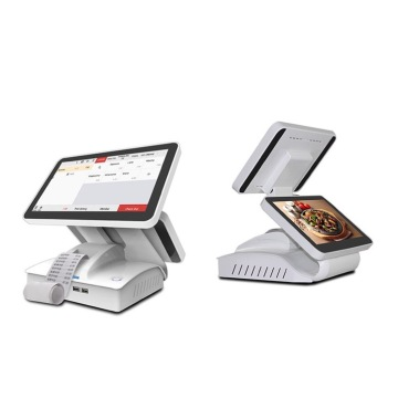 Touch pos stand computer cash payment machine