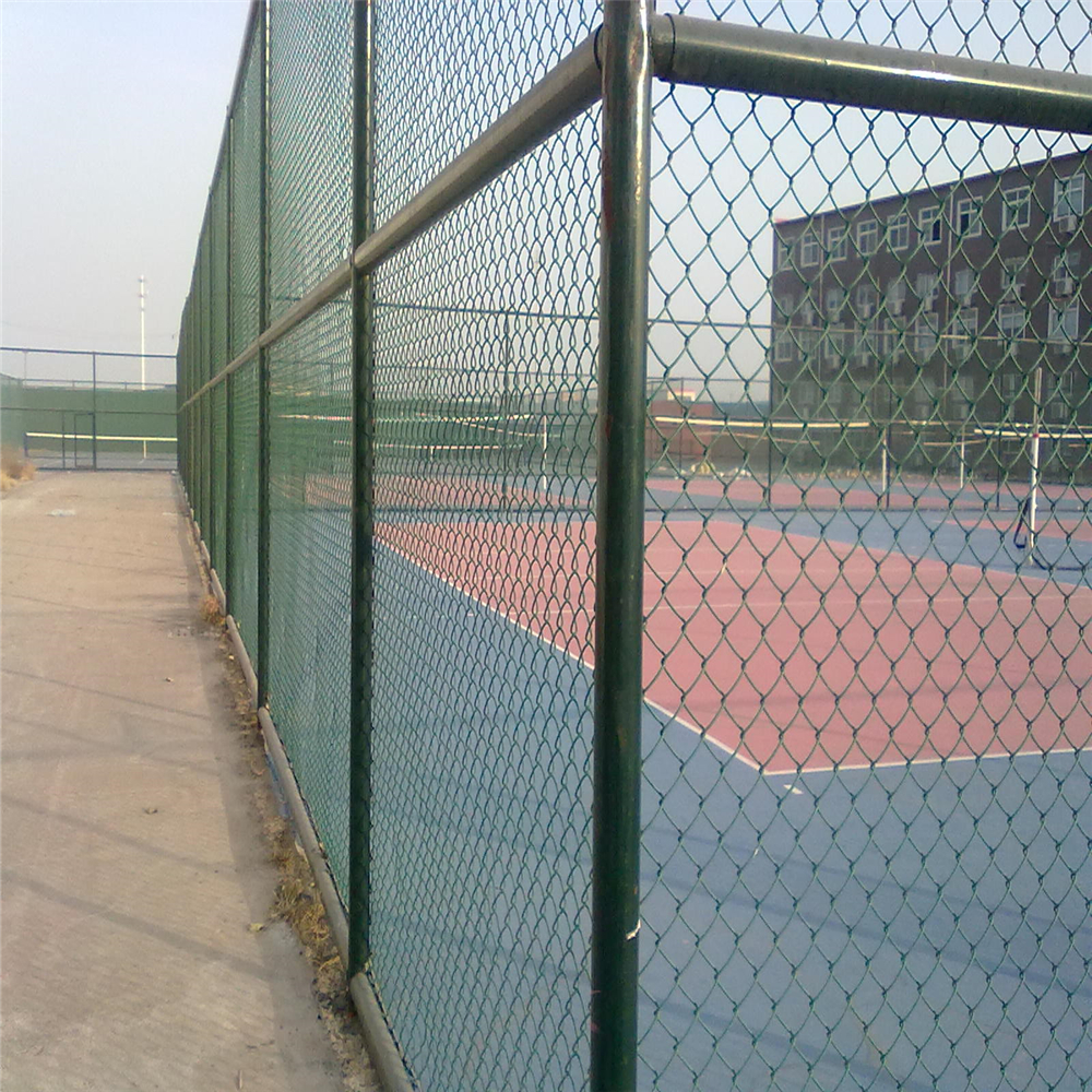 Durable Garden PVC Coated Chain Link Fence