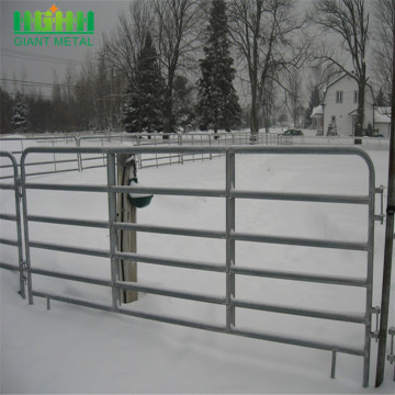 Eco Friendly Metal Frame Material horse fence panels