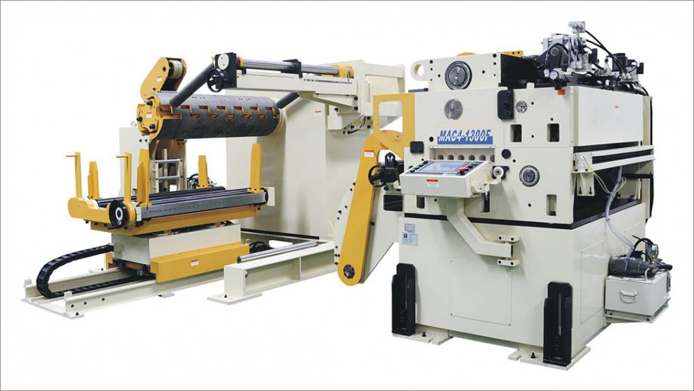 Automatic Nc Servo Straightener Feeder 3 In 1