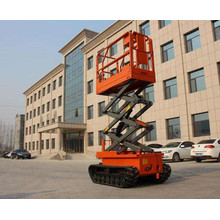 8m Hydraulic Caterpillar Band Track Scissor Lift Platform