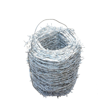 Used Galvanized Barbed Wire fence for sale