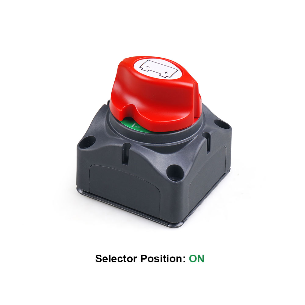 12V-60V 100A-300A Car Auto RV Marine Boat Battery Selector Isolator Disconnect Rotary Switch Cut