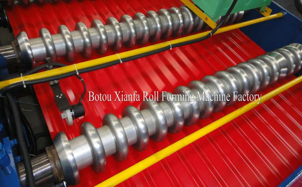 ized Roof Steel Corrugating Machine
