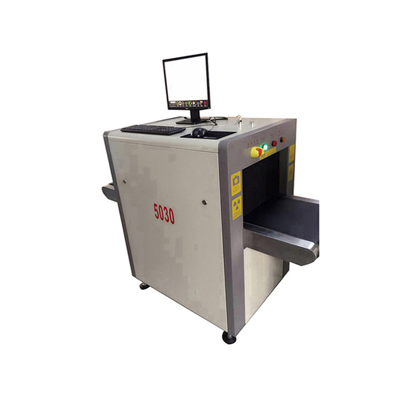 cargo security scanning machine