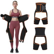 Neoprene Sweaty High Waist Trim inchoigeartaithe Thigh Trimmer