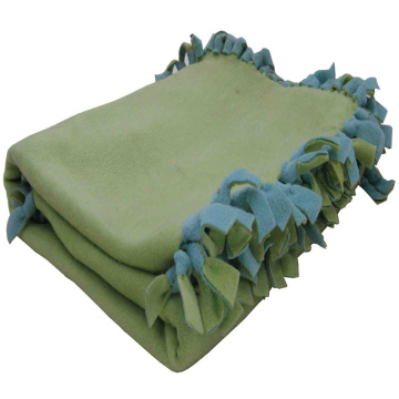 knotted edge Polar Fleece Blanket