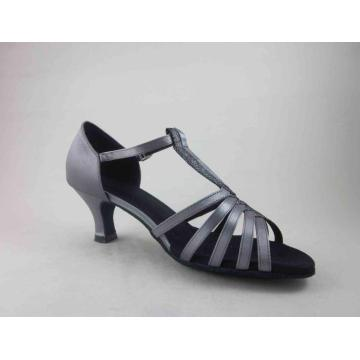 ladies grey satin dance shoes uk