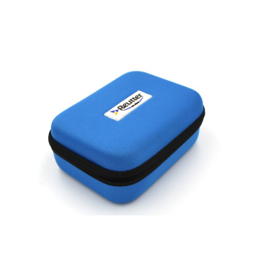 Business style eva tool case with rubber logo