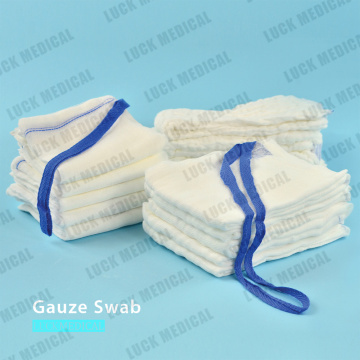 Gauze Swab Lab sponges X-Ray Detectable Thread
