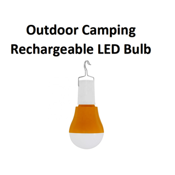 Outdoor Camping Rechargeable LED Bulb