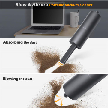 USB Portable Vacuum Cleaner With Blower And Suction