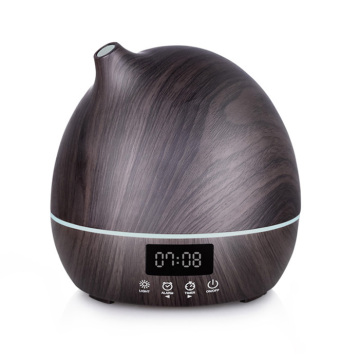 Wood Clock Design Air Humidifier With Alarm Clock