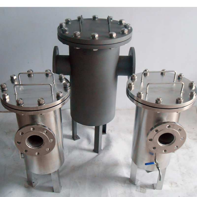High flow low pressure filter