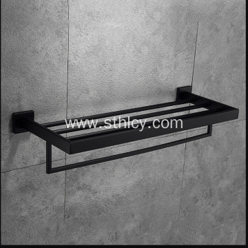 304 Stainless Steel Multifunctional Bath Towel Rack