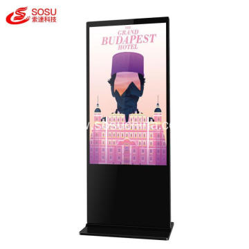 "49"" stand touch screen LCD commercial digital kiosk"