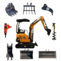 Rhinoceros mini excavator XN18 micro excavators for sale