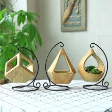 Flower Hanging e Vase Container Planter Succulent Geometric Pendant Pot