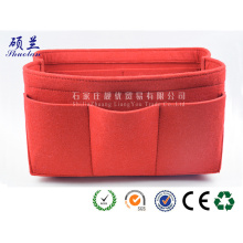 2018 new design customized color felt cosmetic bag