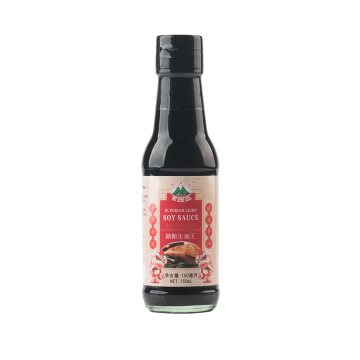 150ml Glass Bottle Light Soy Sauce