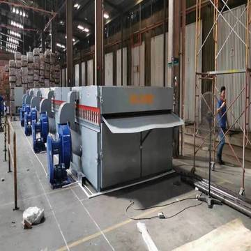 Roller Conveyor or Wire-mesh Con­veyor in Dryers