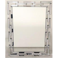 Rectangular hanging mirror silver mirror
