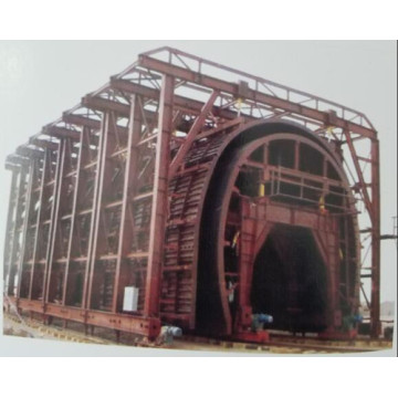 Open-Cut Tunnel Trolley for Concrete Construction