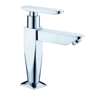 Single cold basin faucet water tap brass
