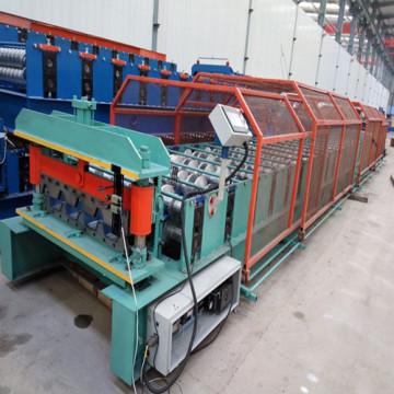 Factory prices steel decking forming machine
