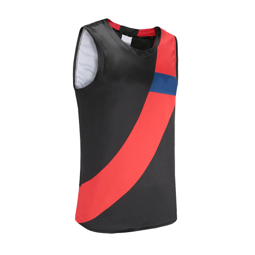 Mens Black Dry Fit Soccer Wear Vest