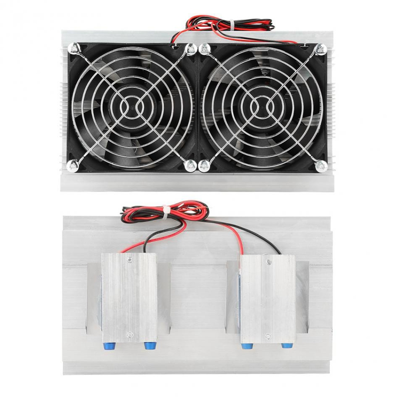 Dc 12V 120W Peltier Air Conditioner Semiconductor Thermoelectric Cooler Peltier Refrigeration Water Cooling Device