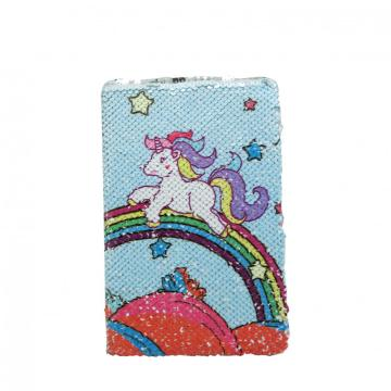 UNICORN CUTE SEQUINS NOTEBOOK-0