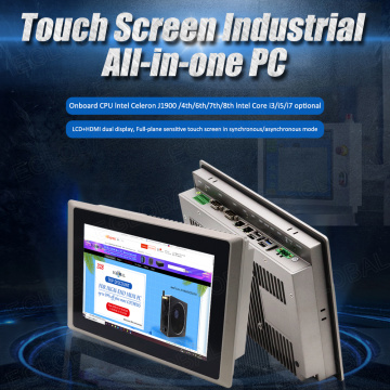 Eglobal Intel Core i7 4500U All-in-One 10.1'' Touch Screen IP65 Industrial Panel PC Windows WES7 COM LAN HDMI Desktop Computer