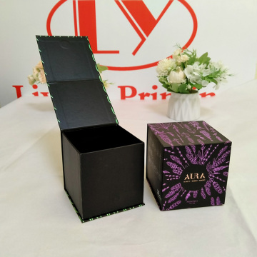 Magnetic Lid Custom Candle Boxes with Logo