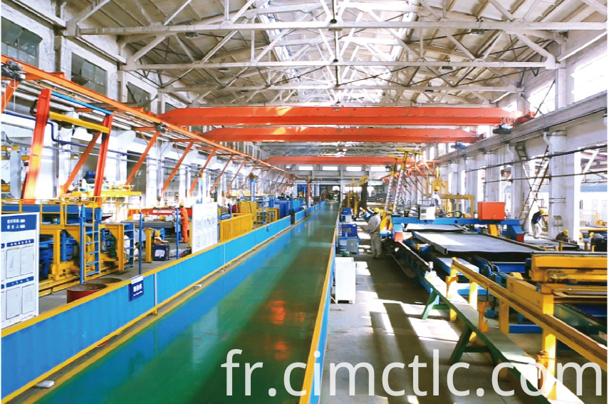 production line-1 for Modular Office Building Container Type