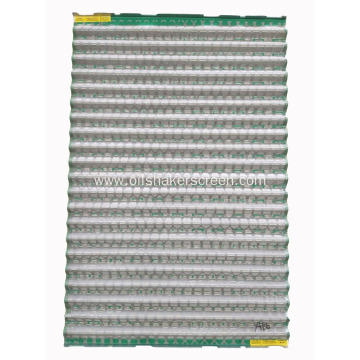 Corrugated FLC2000 shaker screen 24mesh---325mesh