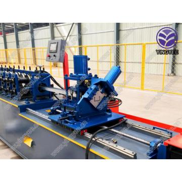 Flexible metal stud track furring keel machine