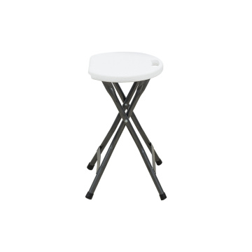Portable Metal and Plastic Folding Stool