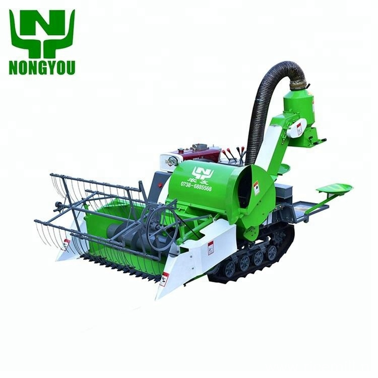 4LZ-0.8 Harvesting Machinery Small Paddy Harvesters