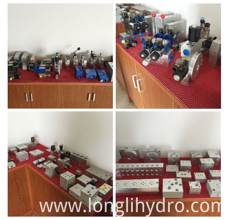 HydraForce Cartridge Type Hydraulic Valve Manifold Block
