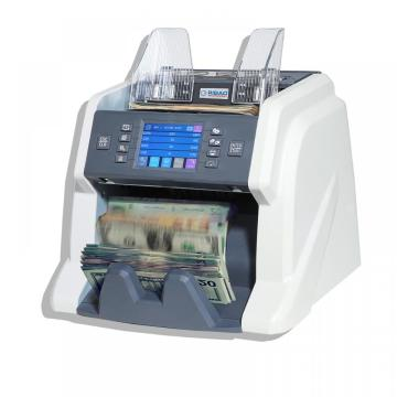 Multi currency banknote counter with CIS sensor