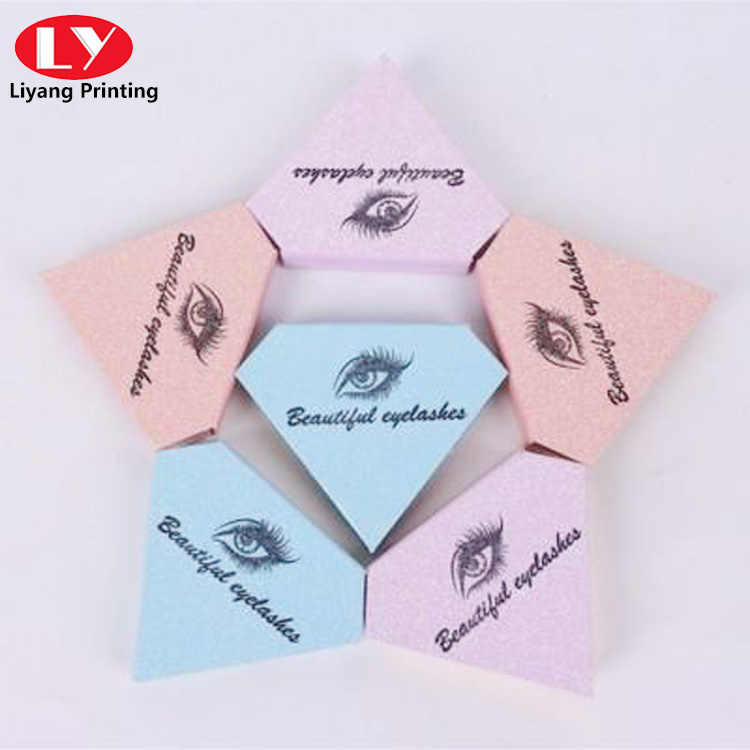 Diamond Shape Box for False Eyelash