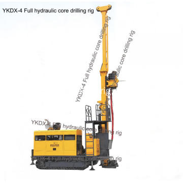 Wire-line deep hole drilling tool mining core rig