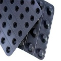 Plastic roof waterproofing dimple drainage board