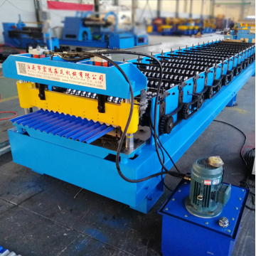 Metal Roofing Panel Corrugate Sheet Roll Forming Machine