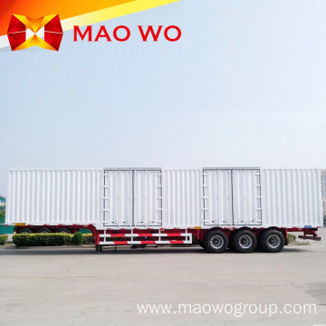 Leading Brand 3 Axles Van Box Semi Trailer