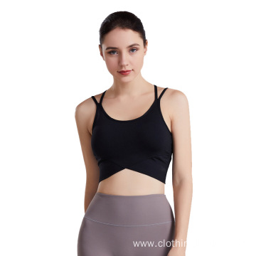 Womens yoga bras yoga gym sport tops