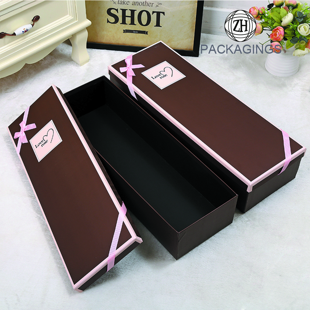 Recycled Paper Material Flower Packaging Box